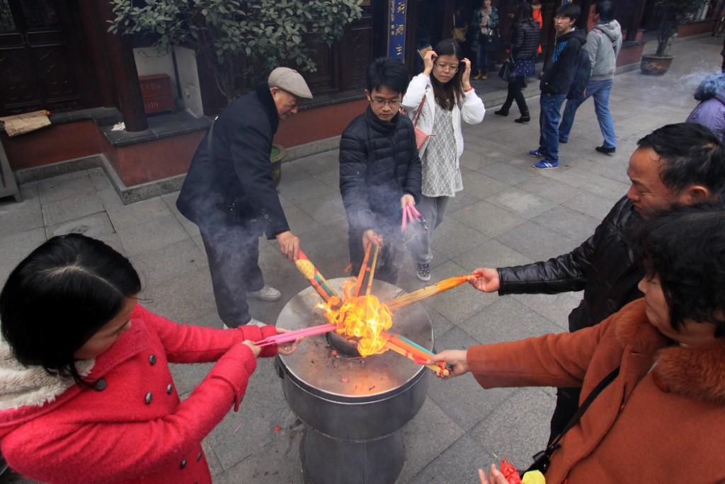 Zdjęcia: Shanghai, Shanghai, Świątynia boga miasta, CHINY