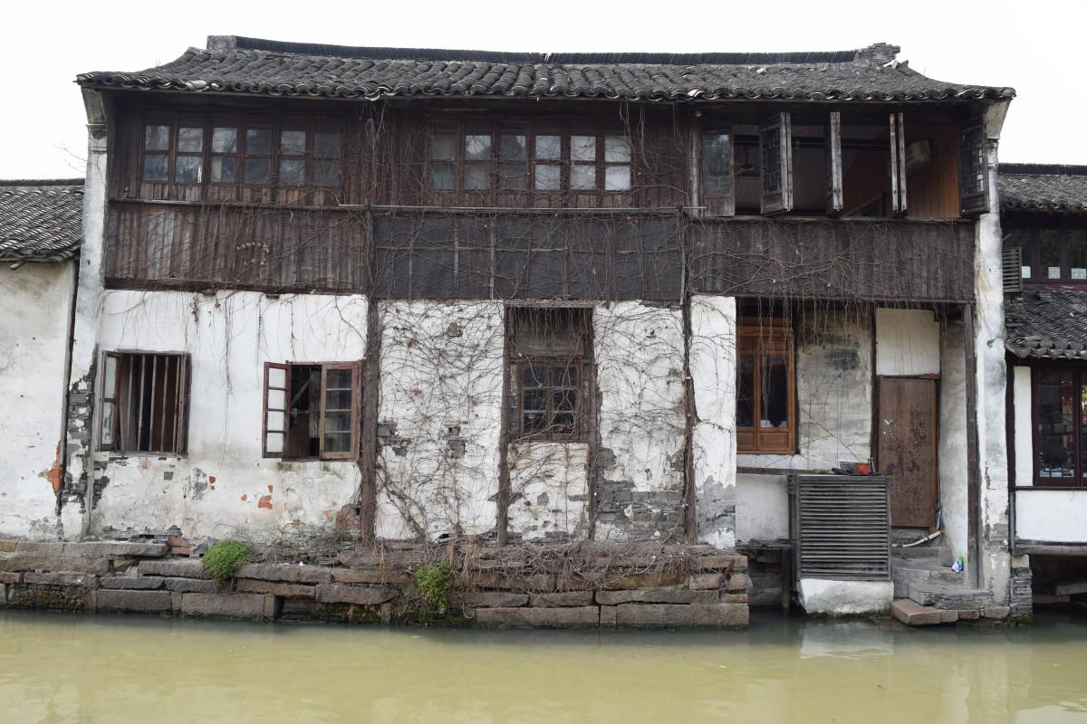 Zdjęcia: Zhouzhuang, Szanghaj, Wodne miasto, CHINY