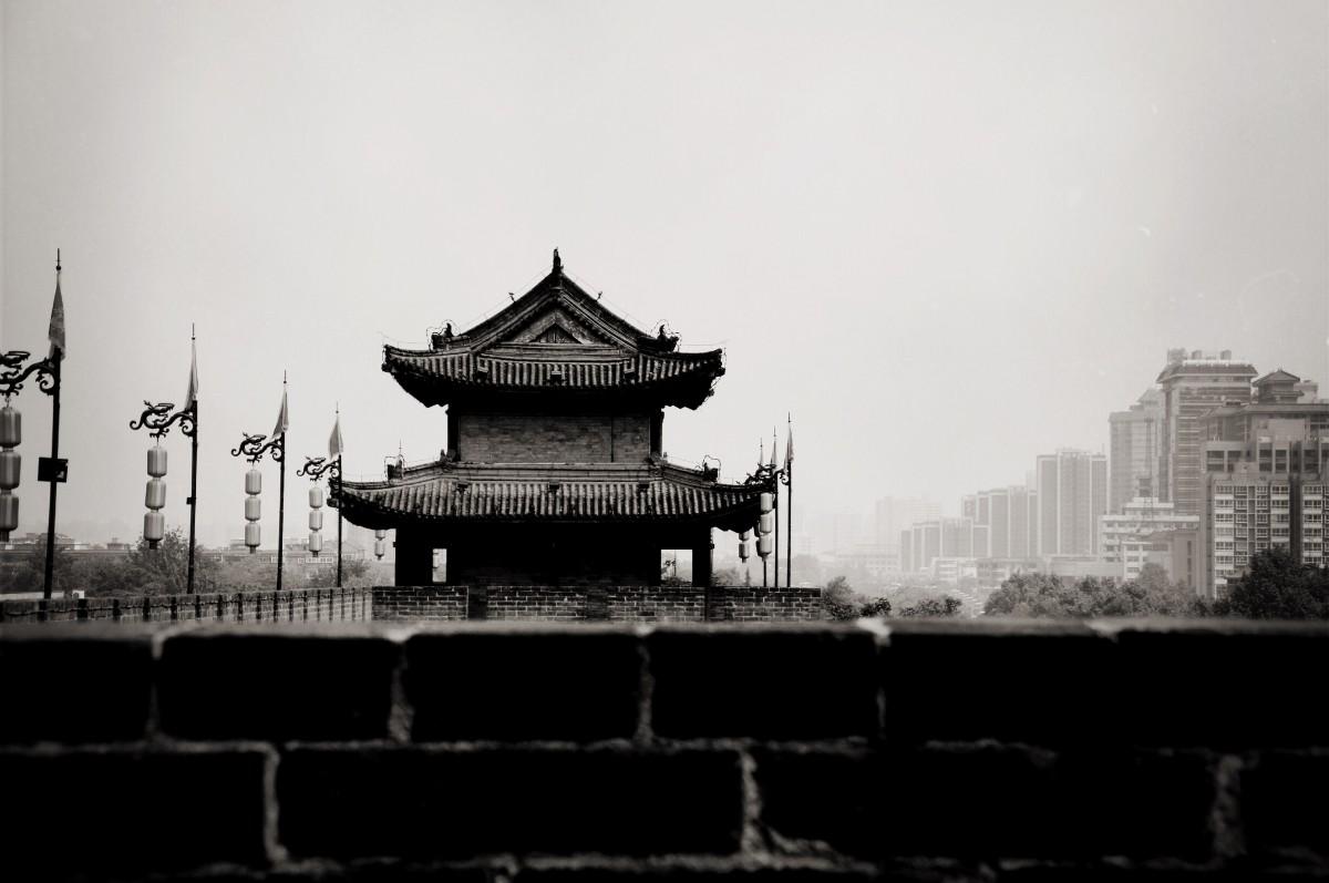 Zdjęcia: Xian, kiedyś vs teraz, CHINY