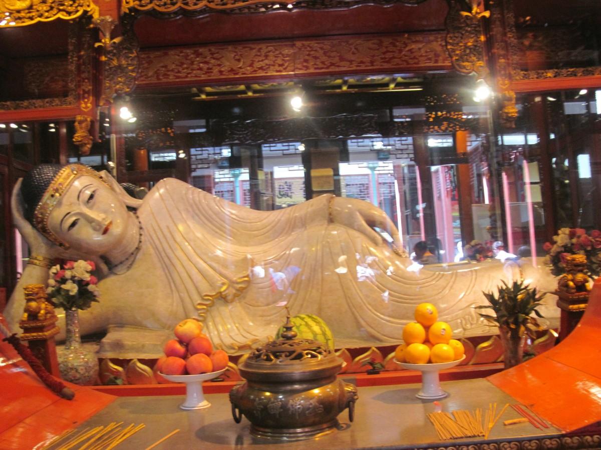 Zdjęcia: Szanghaj, Świątynia Nefrytowego Buddy, CHINY