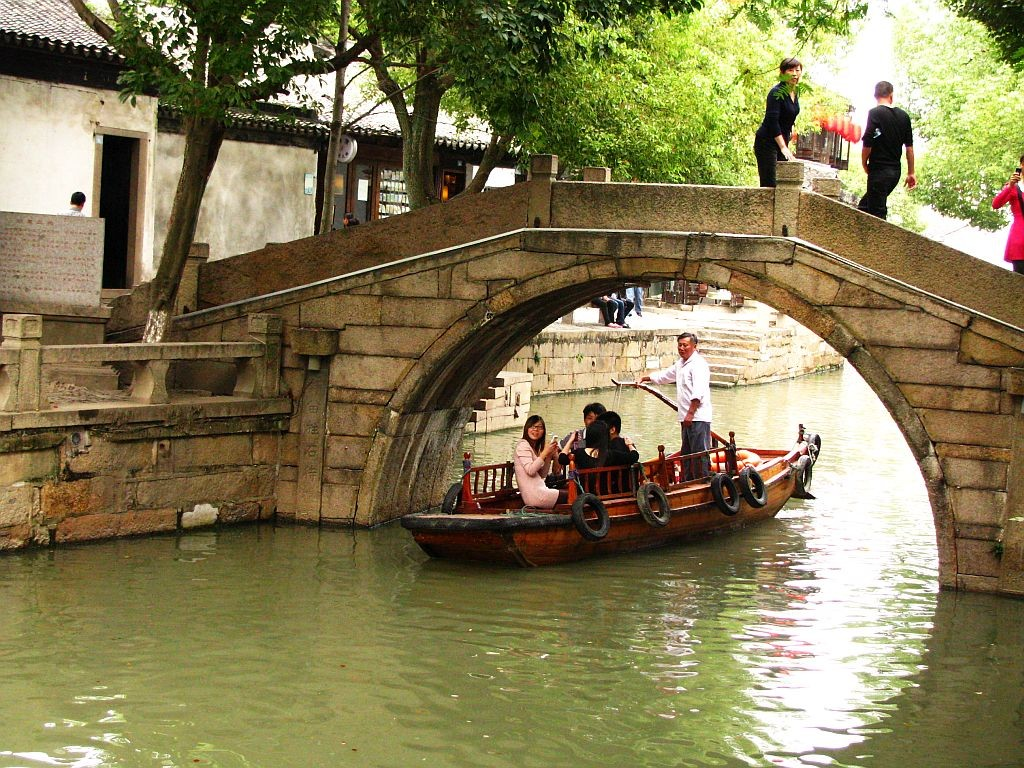 Zdjęcia: Tongli, prowincja Jiangsu, kanały Tongli, CHINY