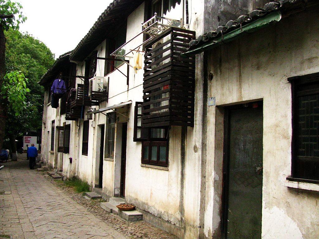 Zdjęcia: Tongli, prowincja Jiangsu, uliczka na starym mieście, CHINY