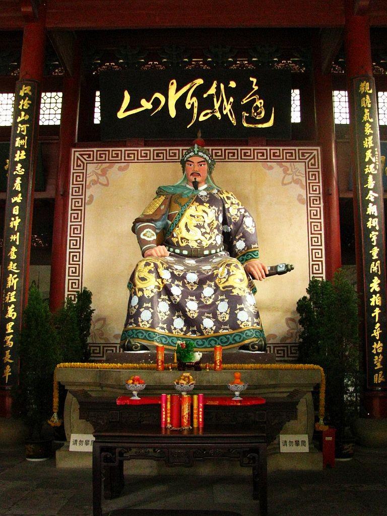 Zdjęcia: Hangzhou, prowincja Zhejiang, Generał Yue Fei, CHINY