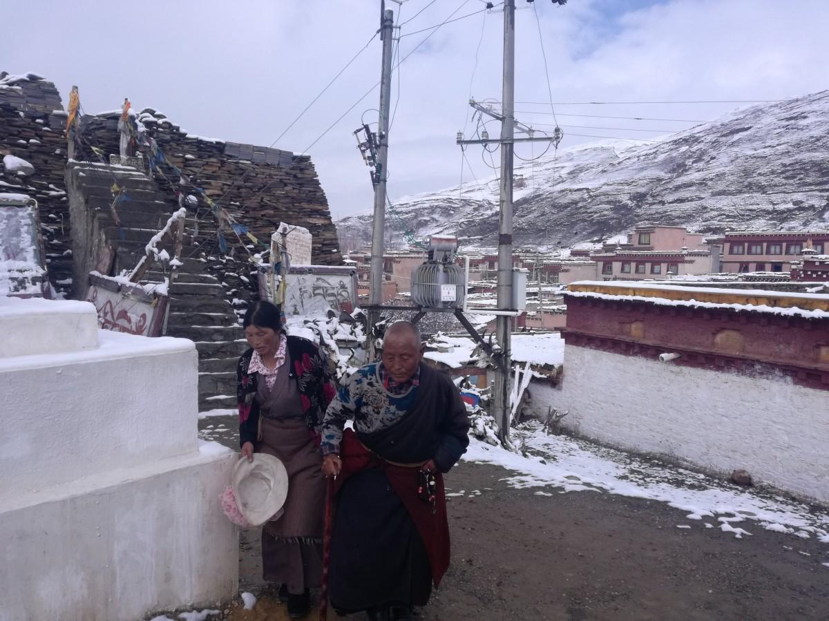 Zdjęcia: Litang, Garze, Ludzie z Litang, CHINY