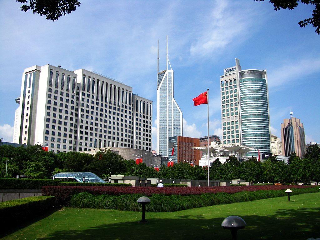 Zdjęcia: Szanghaj, Szanghaj, Plac Ludowy, CHINY