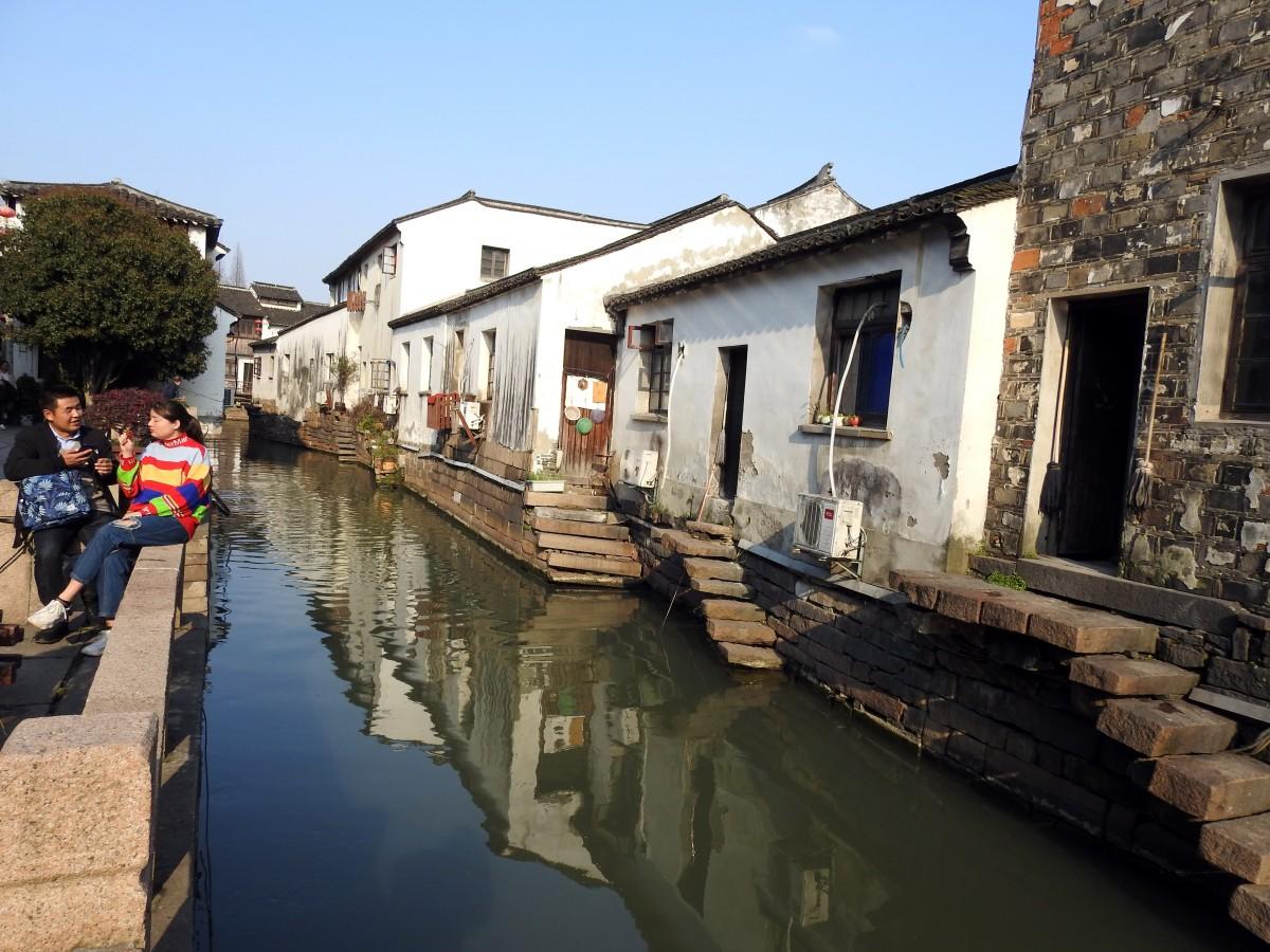 Zdjęcia: Shantang, Zushou, Kanały, CHINY