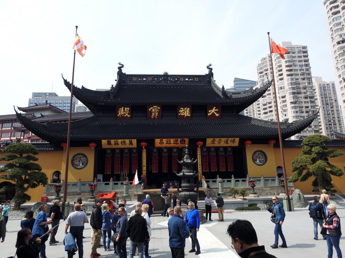 Zdjęcia: Szanghaj, Szanghaj, Świątynia Nefrytowego Buddy, CHINY
