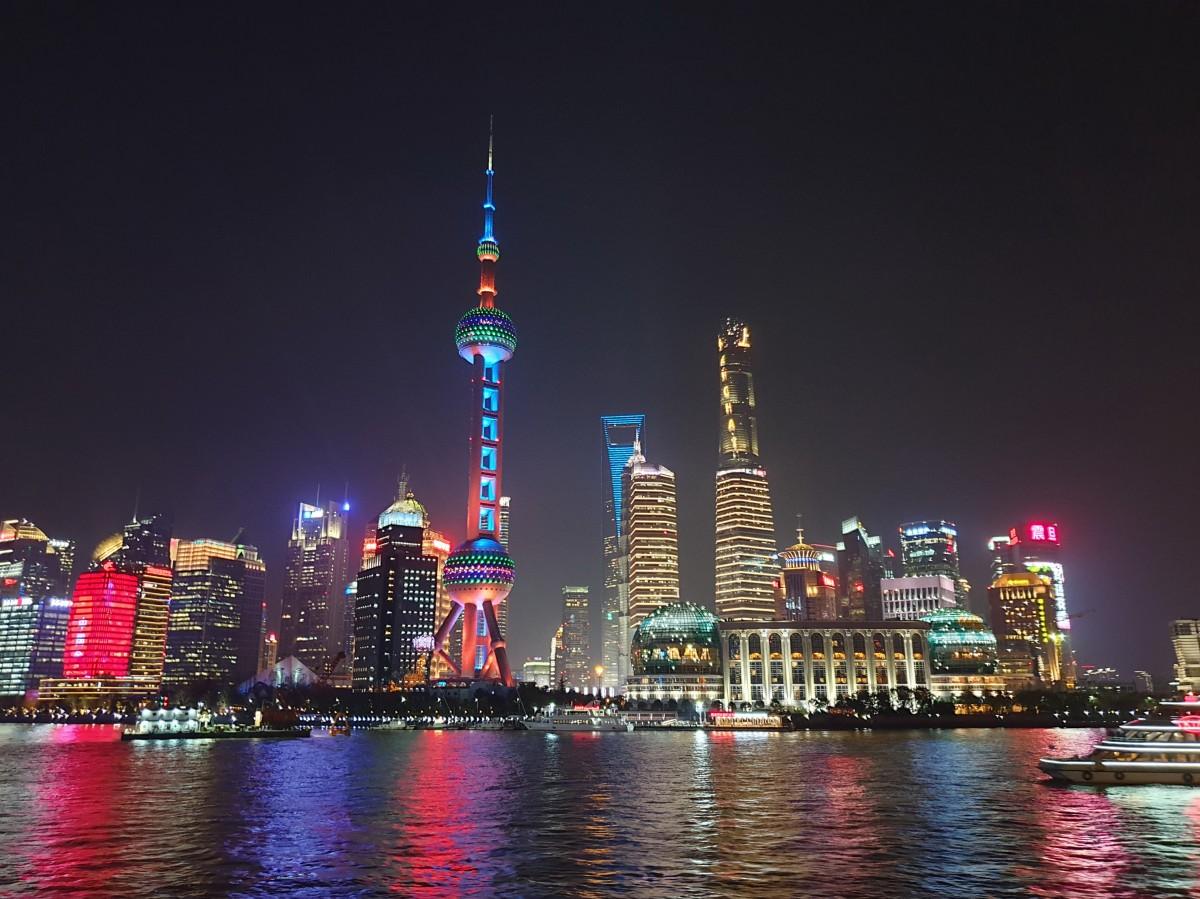 Zdjęcia: Huang Pu, Szanghaj, Pudong, CHINY