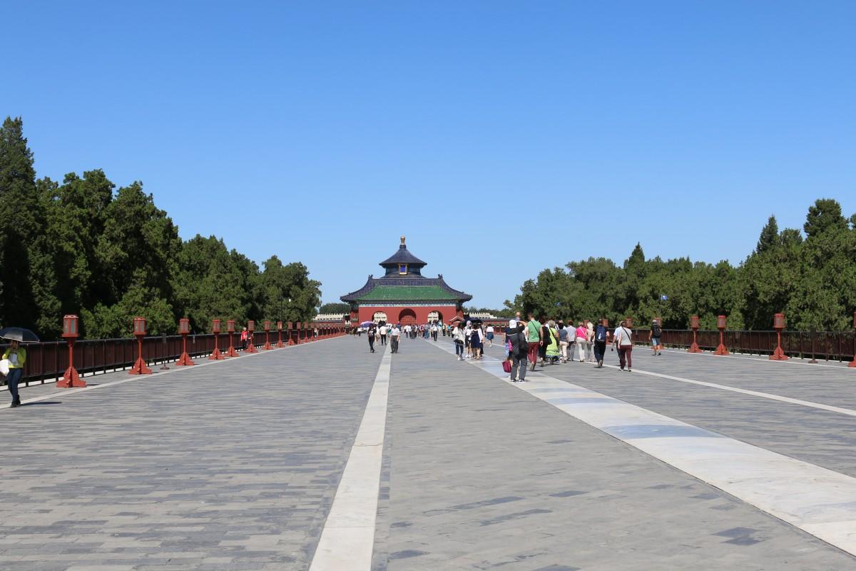 Zdjęcia: Pekin, Pekin, W drodze do Świątyni Niebios, CHINY