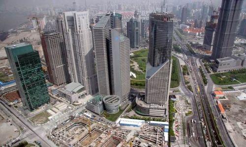 Zdjecie CHINY / brak / Shanghai / Z wieży telewizyjnej