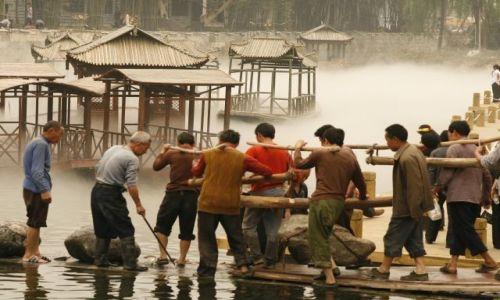 Zdjecie CHINY / Syczuan / Huanglongxi / Jeszcze pare krokow