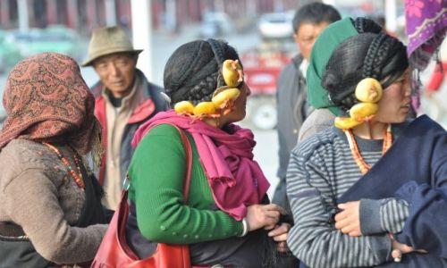 Zdjęcie CHINY / Gansu / Xiahe / Bizuteria