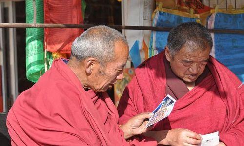 Zdjęcie CHINY / Gansu / Xiahe / I co powiesz ? II