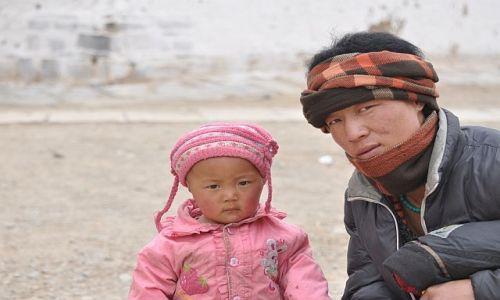 Zdjęcie CHINY / Gansu / Xiahe / Tata i ja