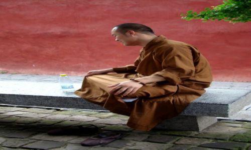 Zdjęcie CHINY / - / Shaolin / W KLASZTORZE SHAOLIN