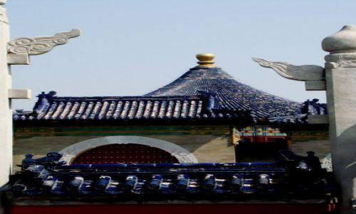 Zdjęcie CHINY / - / Pekin / Dachy świątyni