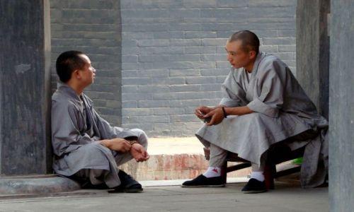 Zdjecie CHINY / - / Shaolin / Mnisi