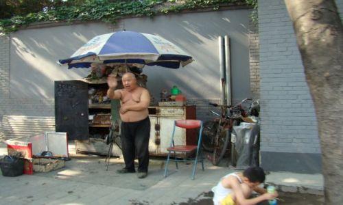 Zdjecie CHINY / - / Pekin / Warsztat rowerowy - na terenie hutongów