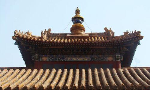 CHINY / - / Pekin / Dachy Zakazanego Miasta