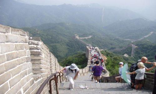 Zdjęcie CHINY / Pekin / mur chinski / wielki mur