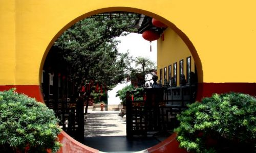 Zdjecie CHINY / - / Shanghai / Świątynia Nefrytowego Buddy