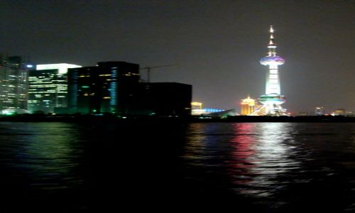 Zdjecie CHINY / - / Shanghai / Nocny Shanghai