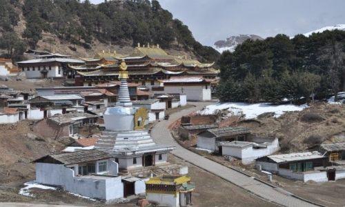 Zdjęcie CHINY / Gansu / Langmusi / Klasztor tybetanski