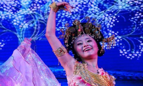 Zdjecie CHINY / - / Z przedstawienia o pierwszym cesarzu - jego ukochana, pierwsza konkubina / Pekin