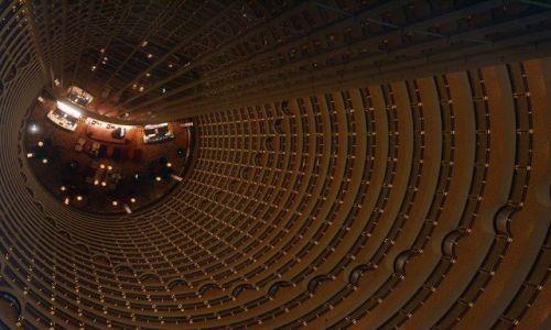Zdjecie CHINY / Shanghai / Atrium hotelu Hyatt, / Atrium