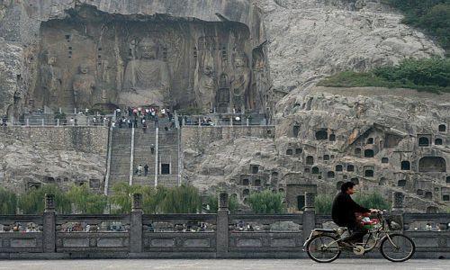 Zdjęcie CHINY / Longmen / Chiny / groty Longmen