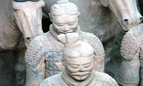 Zdjecie CHINY / Shaanxi / Xian / TERAKOTOWA ARMIA