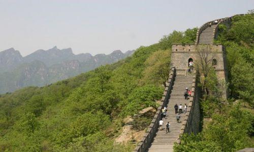 Zdjęcie CHINY / Pekin / Mutianyu / Na chinskim murze