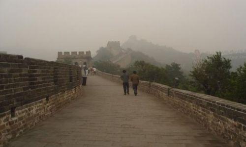 Zdjecie CHINY / brak / Wielki mur / Wielki mur we wrześniu