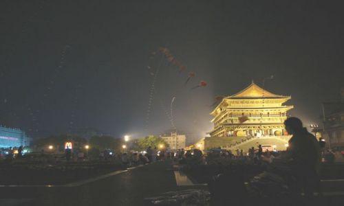 CHINY / - / Xian / Xian nocą