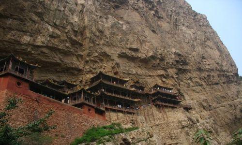 Zdjecie CHINY / - / Xuankong / Wiszący klasztor