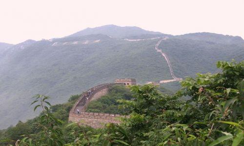 Zdjecie CHINY / Pekin / Mutien / Chiński Mur