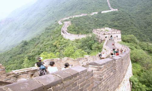 Zdjecie CHINY / Pekin / Mutien / Chi�ski Mur