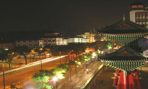 Zdjęcie CHINY / - / Xian / Xian nocą