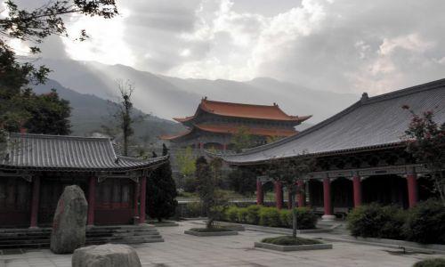 Zdjecie CHINY / Yunnan / Dali / Kompleks Trzy Pagody