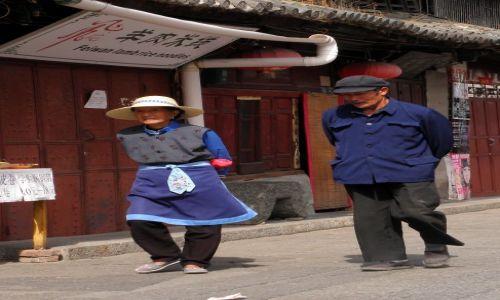 Zdjecie CHINY / Yunnan / Dali / Na ulicy
