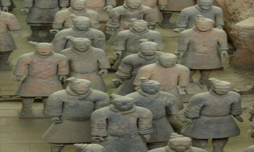 CHINY / - / Okolice Xian / Terakotowa armia