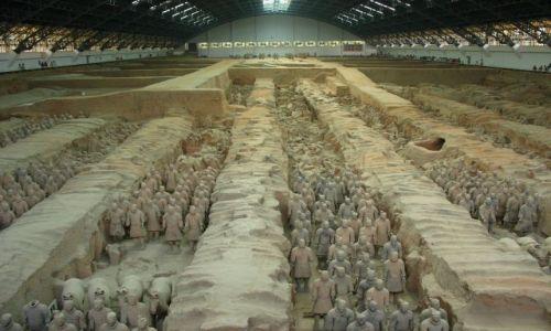 Zdjecie CHINY / - / okolice Xian / Terakotowa armia