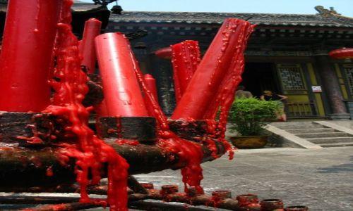 Zdjęcie CHINY / - / Xian / Wnętrze kompleksu pagody wielkich dzikich gęsi