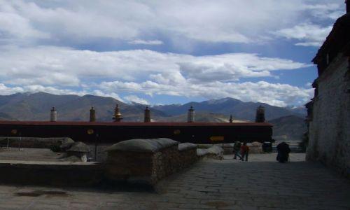 Zdjecie CHINY / Tybet / Klasztor Drepung / Na dachu świata