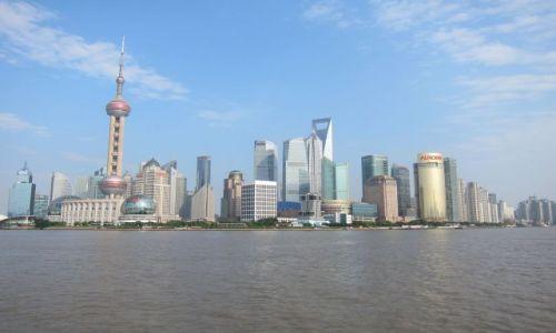 Zdjęcie CHINY / Shanghai / Shanghai / Panorama miasta