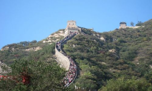 Zdjecie CHINY / Chiny / Wielki Mur / Wielki Mur Chiń