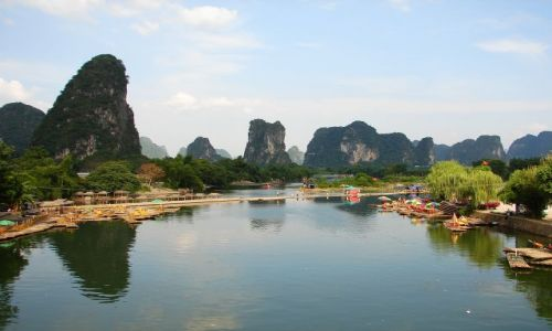 Zdjecie CHINY / - / Yangshuo / Rzeka Li