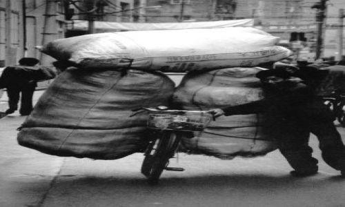 Zdjecie CHINY / brak / Pekin / Lokalna firma transportowa