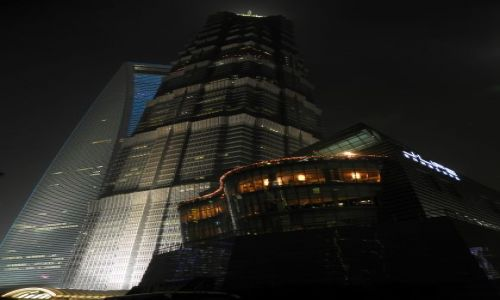 Zdjecie CHINY / wschodnie wybrzeże / Szanghaj / Konkurs - Szanghaj nocą