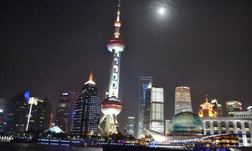 CHINY / Płd-wsch Chiny / Shanghai / KONKURS - SHANGHAI NOCĄ